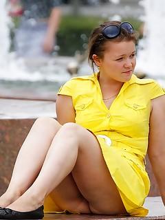 Chubby Upskirt - Up Shorts Pics